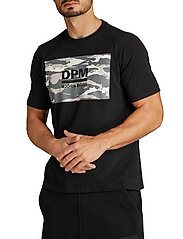 Björn Borg - DPM SPORT TEE - sports tops - black beauty - 0