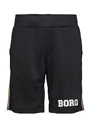 TEAM BORG SHORTS - BLACK BEAUTY