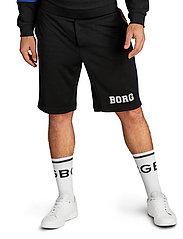 Björn Borg - TEAM BORG SHORTS - casual shorts - black beauty - 0