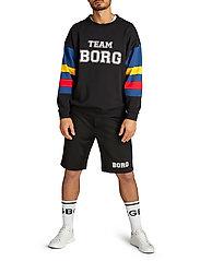 Björn Borg - TEAM BORG SHORTS - casual shorts - black beauty - 6