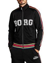 Björn Borg - TEAM BORG TRACK JACKET - track jackets - black beauty - 4