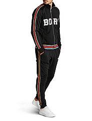 Björn Borg - TEAM BORG TRACK JACKET - track jackets - black beauty - 6