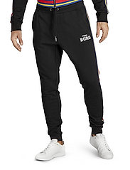 Björn Borg - TEAM BORG TRACK PANTS - sweatpants - black beauty - 0