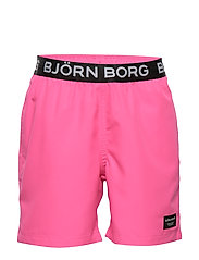 KEITH KEITH LOOSE SHORTS - PINK GLO