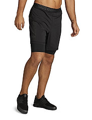 Björn Borg - AMARI SHORTS - training shorts - black beauty - 0