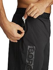 Björn Borg - AMARI SHORTS - training shorts - black beauty - 4
