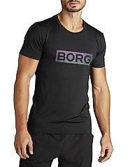 Björn Borg - ALDO PERF TEE - sports tops - black radiate - 0