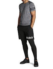 Björn Borg - ARY TEE - sports tops - peacoat melange - 6
