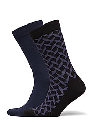 SOCK ANKLE BB SQUARE - CROWN BLUE