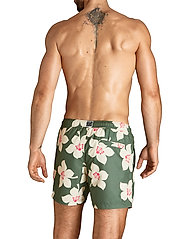Björn Borg - LOOSE SHORTS SYLVESTER SYLVESTER - shorts de bain - bb graphic floral duck green - 3