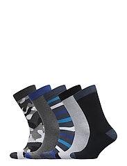5p SOCK NOOS ESSENTIAL - BLUE COBALT MELANGE