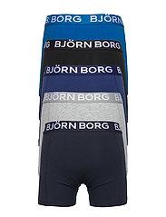 Björn Borg - SHORTS SAMMY SOLID - ondergoedsets - blue depths - 1
