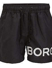 Björn Borg - SHORTS KARIM KARIM - bademode - black beauty - 4
