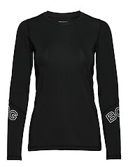CYNTHIA LS TEE - BLACK BEAUTY