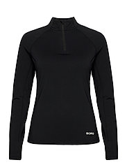 HALF ZIP CARIN CARIN - BLACK BEAUTY