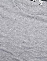 Björn Borg - TEE CENTRE CENTRE - basic t-shirts - h108by light grey melange - 2