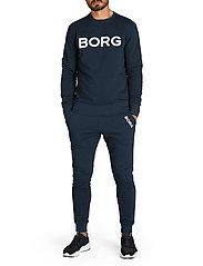 Björn Borg - CREW M BB LOGO M BB LOGO - basic sweatshirts - night sky - 3
