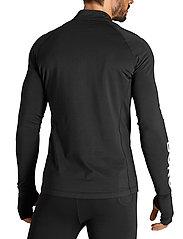 Björn Borg - MIDLAYER HALF ZIP BORG BORG - training jackets - black beauty - 5