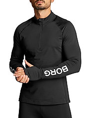 Björn Borg - MIDLAYER HALF ZIP BORG BORG - training jackets - black beauty - 6