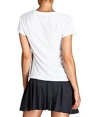 Björn Borg - V TEE TESIA TESIA - t-shirts - brilliant white - 7