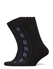ESSENTIAL ANKLE SOCK 5p - BLACK BEAUTY