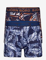 Björn Borg - SHORTS BB PALMLEAF & BB LA SKYSKRAPER 2p - boxers - peacoat - 0