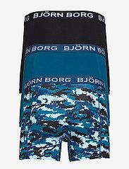 Björn Borg - SHORTS BB NY SILHOUETTE 3p - boxers - corsair - 1
