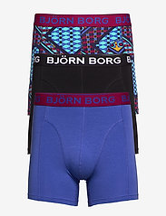 Björn Borg - SHORTS BB LE LOUVRE 3p - boxers - beet red - 0