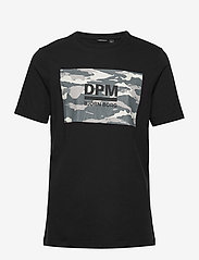 Björn Borg - DPM SPORT TEE - sports tops - black beauty - 1
