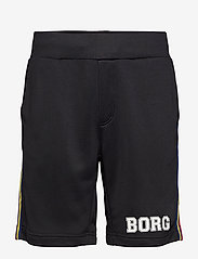 Björn Borg - TEAM BORG SHORTS - casual shorts - black beauty - 1