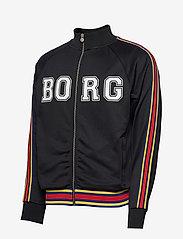 Björn Borg - TEAM BORG TRACK JACKET - track jackets - black beauty - 2