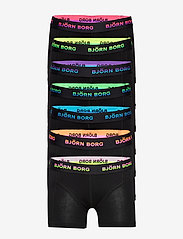Björn Borg - SHORTS SAMMY SEASONAL SOLID NEON - bottoms - electric purple - 0