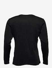 Björn Borg - PERF LS TEE INGE INGE - bluzki z długim rękawem - black beauty - 1