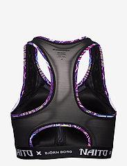 Björn Borg - MEDIUM TOP SKY BB NAITO CITY PURPLE - sort bras:high - naito purple - 2