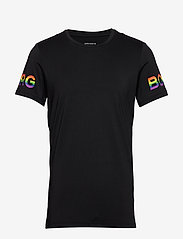 Björn Borg - TEE BORG BORG - sports tops - black multi - 0