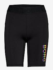 Björn Borg - BIKE SHORTS CARLY CARLY - träningsshorts - black multi - 0