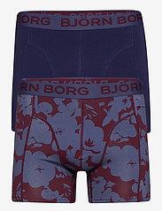 Björn Borg - SHORTS SAMMY BB 2WAYFLOWER - boxers - winetasting - 0