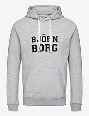 Björn Borg - HOOD BORG SPORT BORG SPORT - hupparit - h108by light grey melange - 0