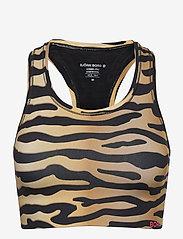 Björn Borg - MEDIUM TOP SHELBY BB TIGER - sort bras:high - black beauty - 0
