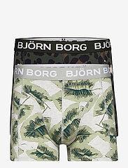 Björn Borg - SHORTS SAMMY BB GIGANT LEO & BB P - boxers - climbing ivy - 0