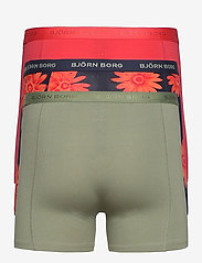 Björn Borg - SHORTS SAMMY BB OVERSIZED FLOWER - underwear - night sky - 1
