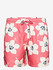 LOOSE SHORTS SYLVESTER SYLVESTER - BB GRAPHIC FLORAL SUNKIST CORA