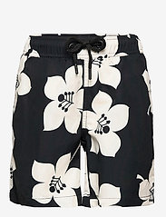 LOOSE SHORTS KENNY KENNY - BB GRAPHIC FLORAL BLACK BEAUTY