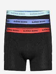 Björn Borg - SHORTS SAMMY SOLID MULTI - underwear - black beauty - 0