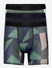 Björn Borg - SHORTS PER BB TEXTURED BLOCK - underwear - duck green - 0