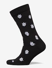 Björn Borg - SOCK ANKLE BB SIMPLE FLOWER - regular socks - black beauty - 0