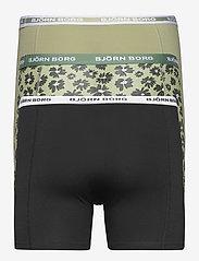 Björn Borg - SHORTS SAMMY BB FOURFLOWER - underwear - oil green - 2