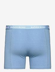 Björn Borg - SHORTS SAMMY BB FOURFLOWER - underwear - skyway - 5