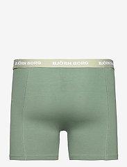 Björn Borg - SHORTS SAMMY BB NORDIC CAMO - underwear - skyway - 3
