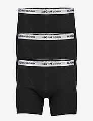 Björn Borg - SHORTS SAMMY NOOS CONTRAST SOLIDS - underwear - black - 0